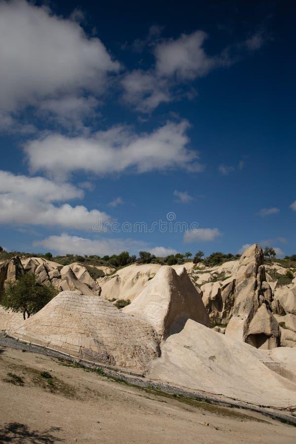 Krajobraz Cappadocia w Goreme na wolnym powietrzu muzeum obraz stock