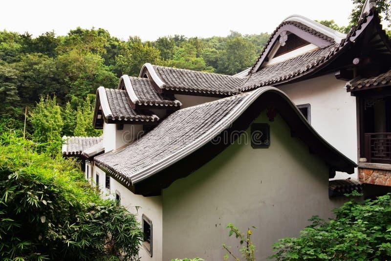 Krajobraz Chiński antyczny ogród zdjęcia stock