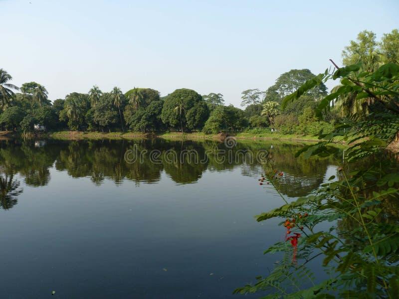 Krajobraz Dhaka miasto Bangladesh fotografia royalty free