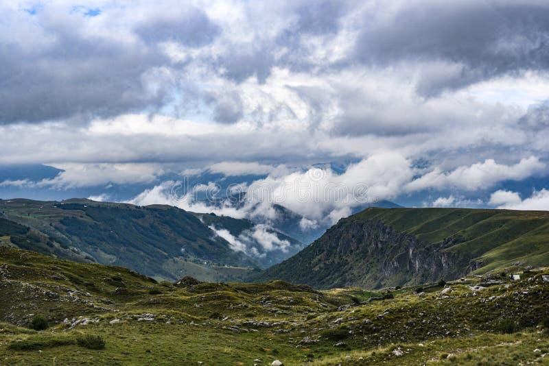 Krajobraz Durmitor góry w Montenegro, Europa góra obraz stock