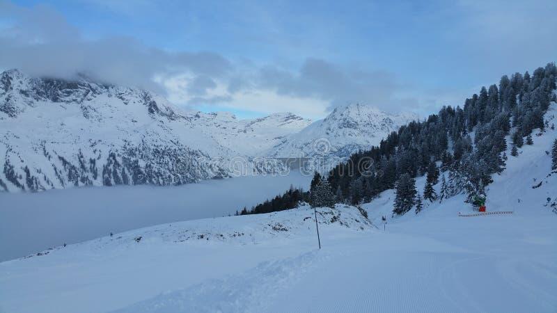 Krajobraz góra zdjęcia stock