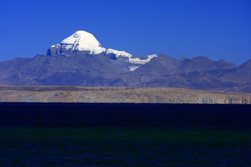 Krajobraz góra Kailash obrazy royalty free