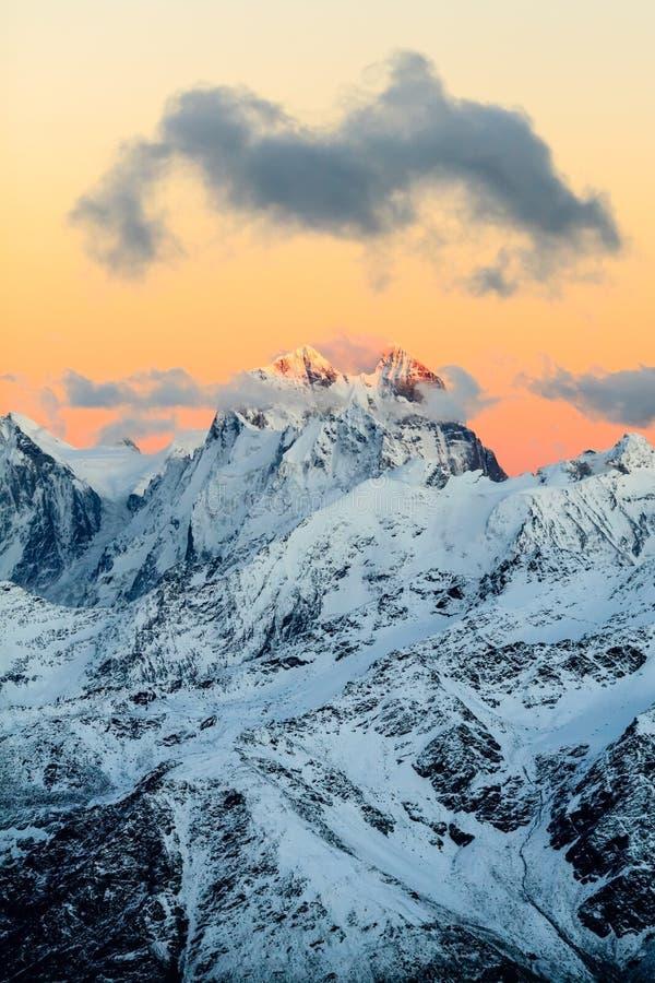 Krajobraz górski, Kaukaz fotografia royalty free