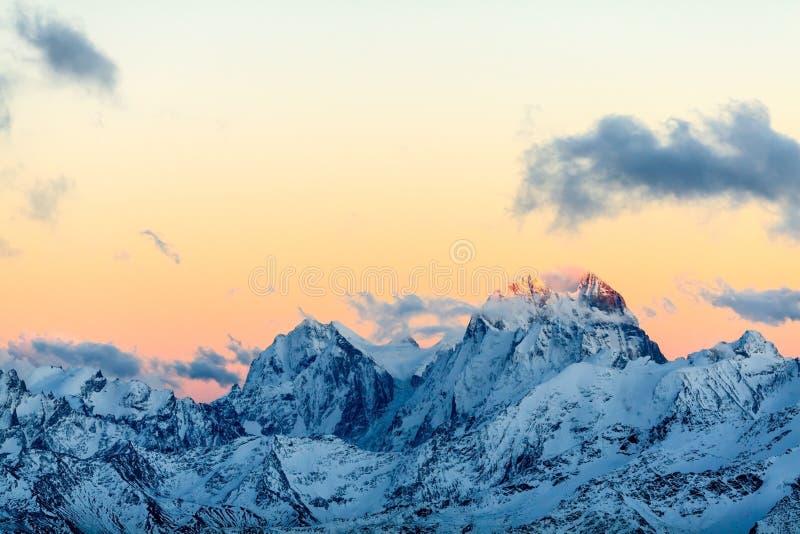 Krajobraz górski, Kaukaz obrazy stock