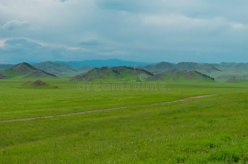 Krajobraz halny Altai zdjęcia royalty free