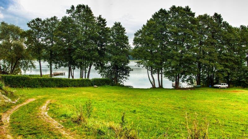 Krajobraz Masuria w Polska obraz stock