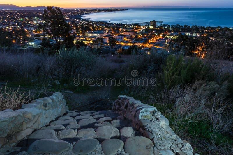 Krajobraz morza widziany z góry zdjęcie stock