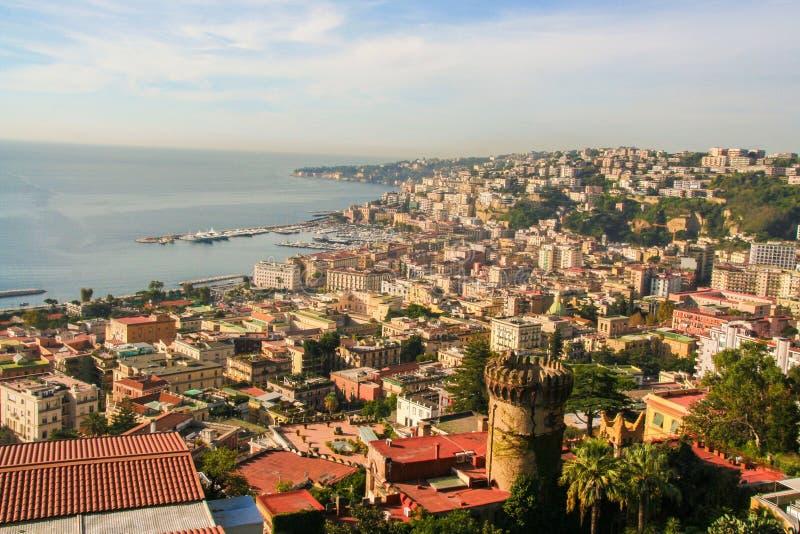 Krajobraz Naples obraz stock