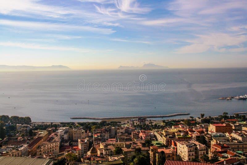 Krajobraz Naples fotografia stock