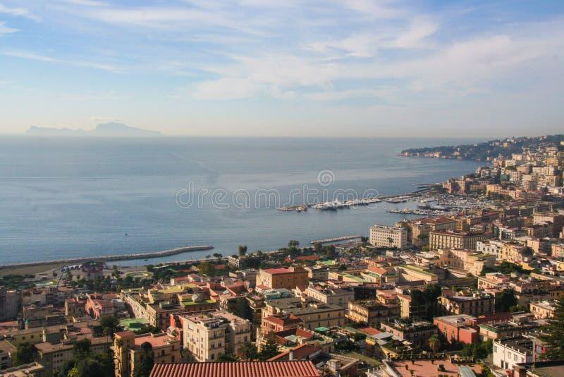 Krajobraz Naples obrazy stock