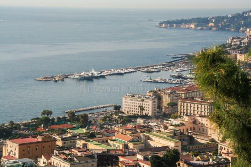 Krajobraz Naples zdjęcie stock