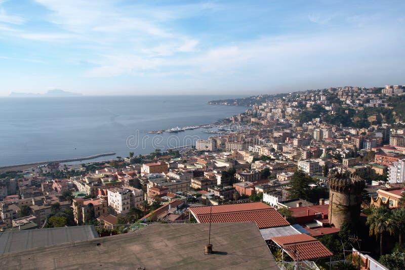 Krajobraz Naples obraz royalty free