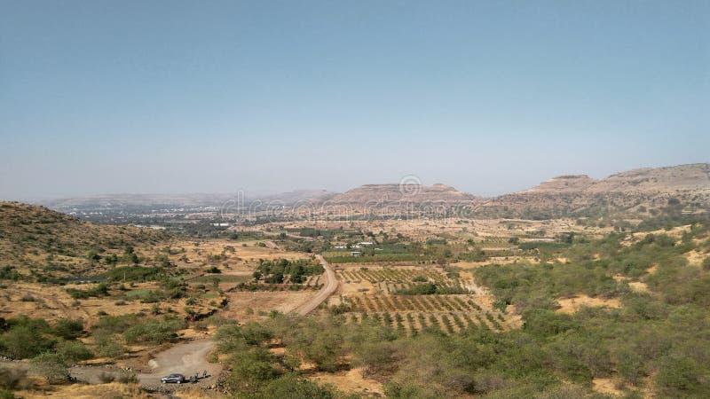 Krajobraz od fortu indu zdjęcia royalty free