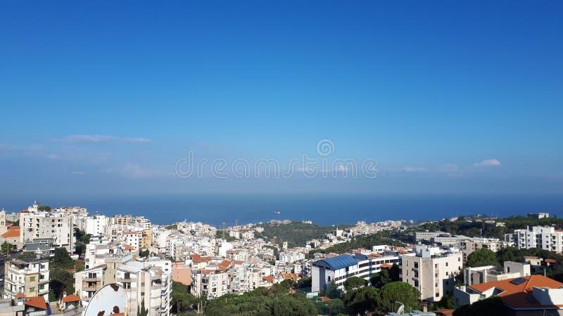 Krajobraz od Liban obraz stock