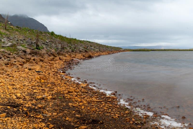 Krajobraz od odległej ziemi - Iceland zdjęcie royalty free