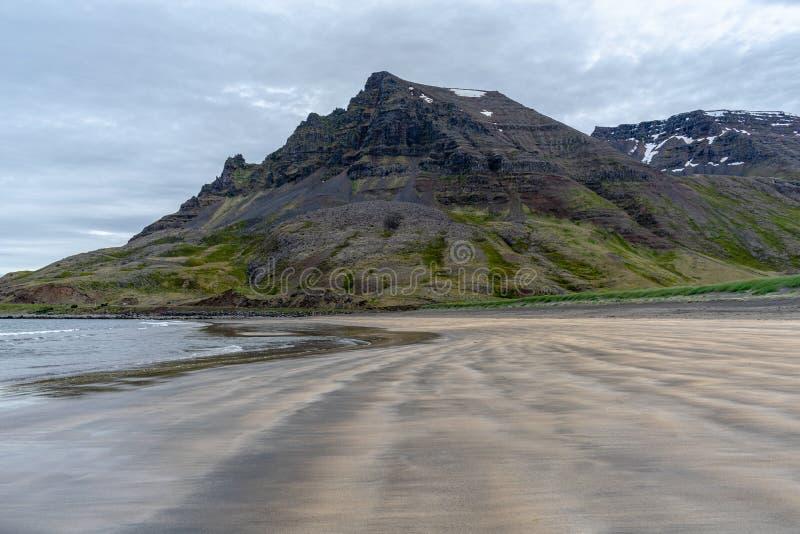 Krajobraz od odległej ziemi - Iceland obrazy stock