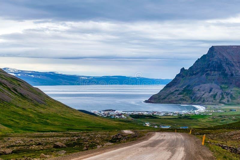 Krajobraz od odległej ziemi - Iceland obrazy royalty free