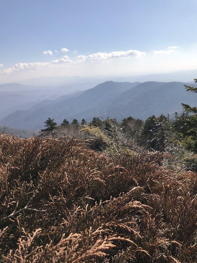 Krajobraz od szczytu halny Falaza obrazy royalty free