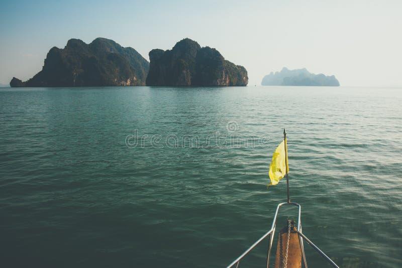 Krajobraz Phang Nga obraz stock