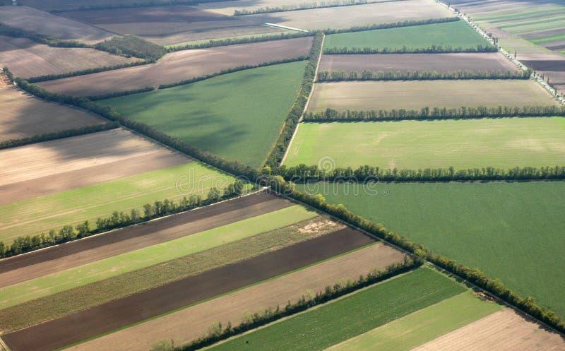 krajobraz powietrza zdjęcie stock