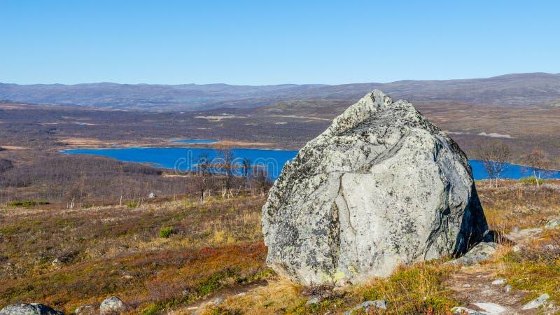 Krajobraz przy górami obraz stock