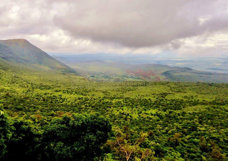 Krajobraz rift valley zdjęcie stock