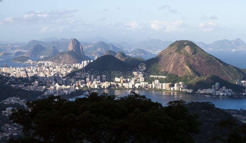 Krajobraz Rio De Janeiro zdjęcie stock