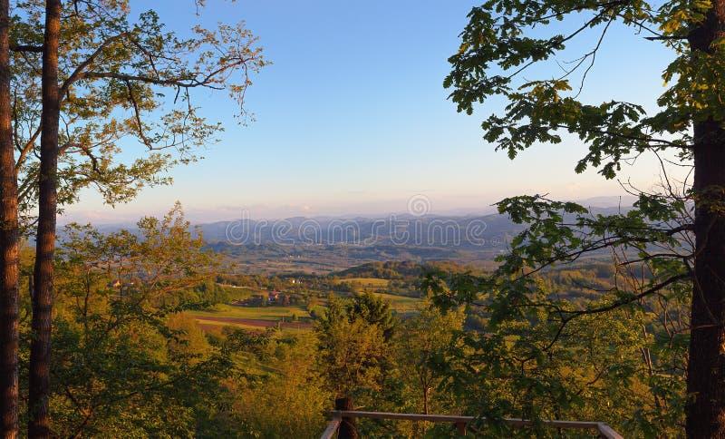 Krajobraz Serbia obraz stock