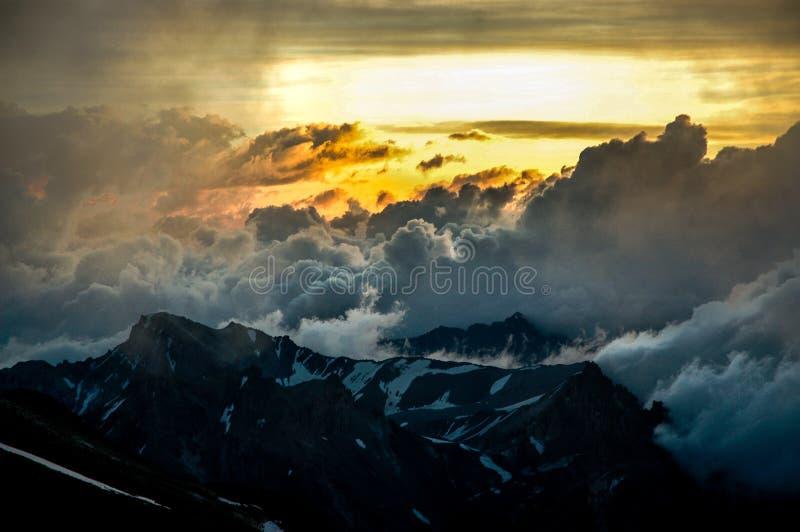 Krajobraz w Aconcagua fotografia stock