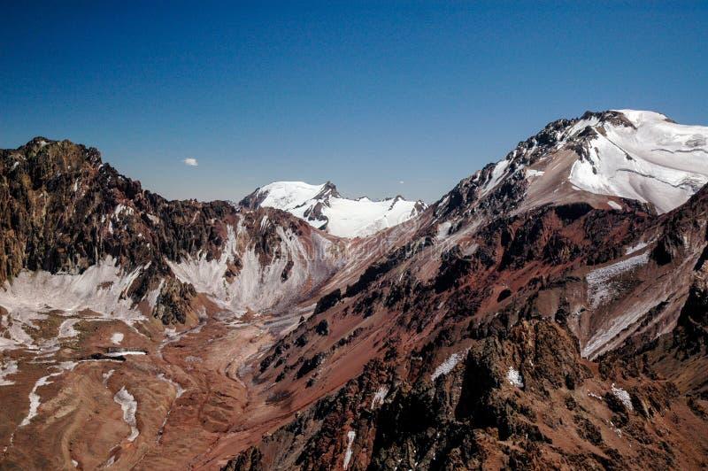 Krajobraz w Aconcagua zdjęcie royalty free