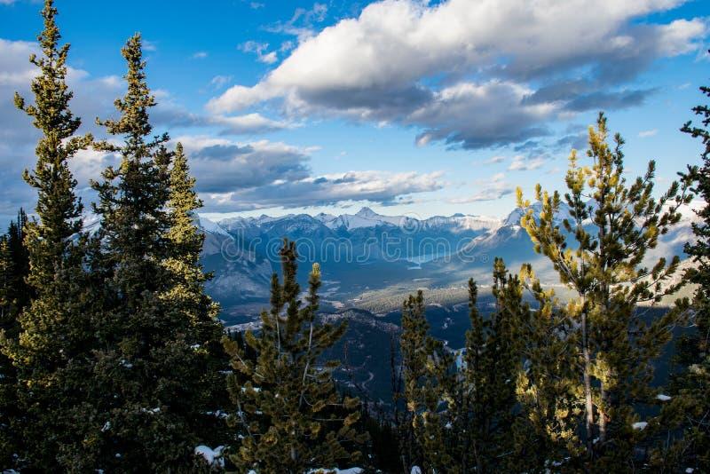 Krajobraz w Alberta Kanada zdjęcie stock