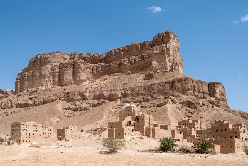 Krajobraz w Jemen obraz stock
