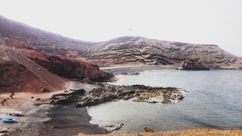 Krajobraz w Lanzarote obraz stock