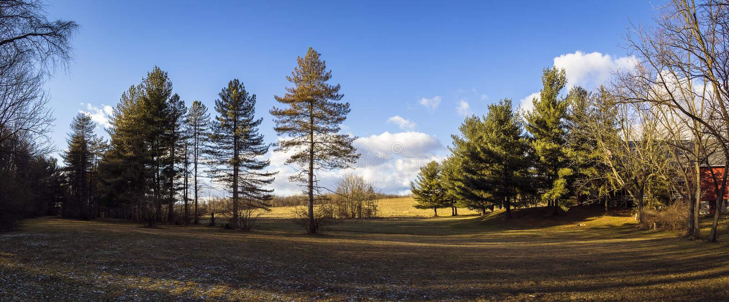 Krajobraz w Pennsylwania obraz stock