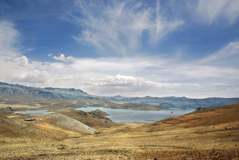 Krajobraz w Peru obrazy stock