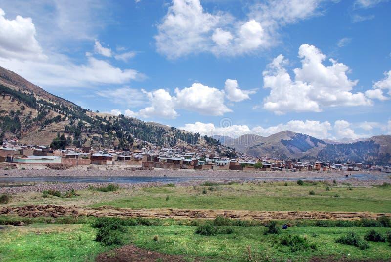 Krajobraz w Peru fotografia stock
