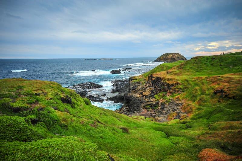 Krajobraz w Phillip wyspie, Melbourne, Australia zdjęcia royalty free