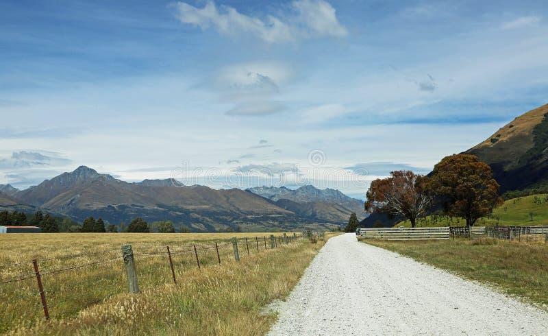 Krajobraz w Południowych Alps zdjęcie royalty free