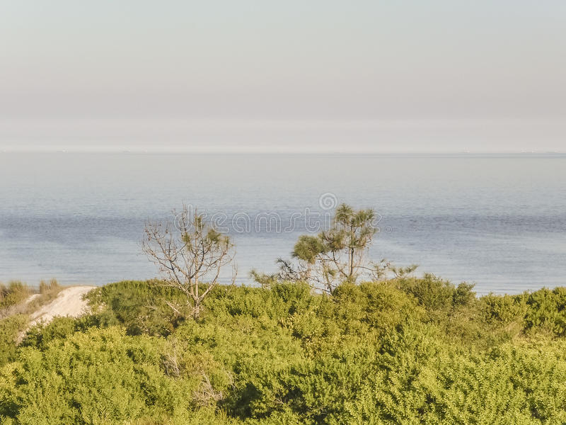 Krajobraz w wybrzeżu Urugwaj fotografia royalty free