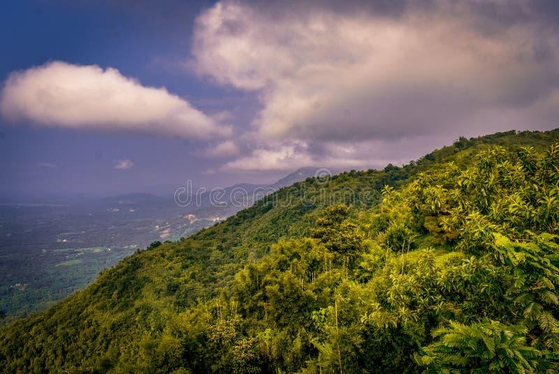 Krajobraz & wzgórza fotografia royalty free