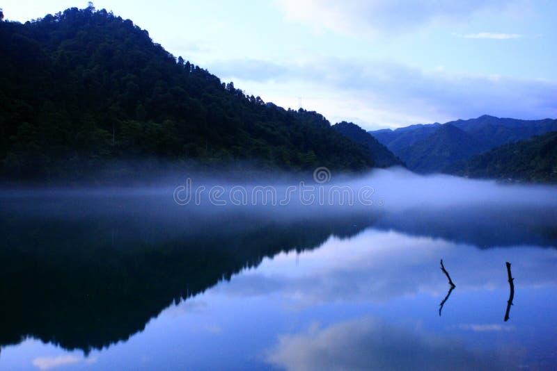 Krajobraz Xiaodong rzeka zdjęcia royalty free