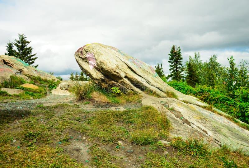 Download Krajobraz z kamieniami zdjęcie stock. Obraz złożonej z skała - 53786208