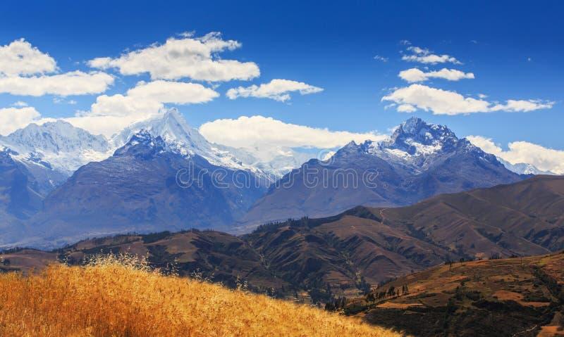 krajobrazowa Andes góra zdjęcie stock
