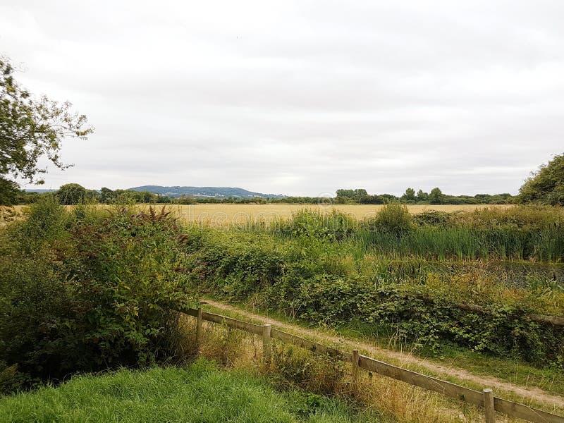 Krajobrazowa i rolna sceneria zdjęcia stock