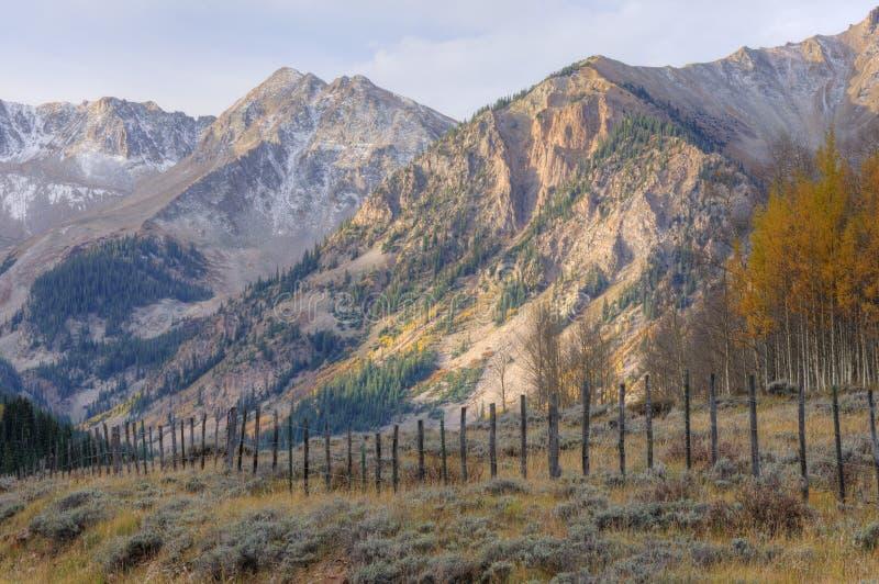 krajobrazowa jesień góra obrazy stock