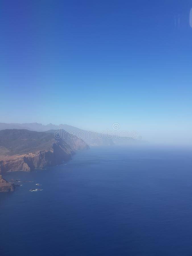 Krajobrazowa madery wyspa fotografia royalty free