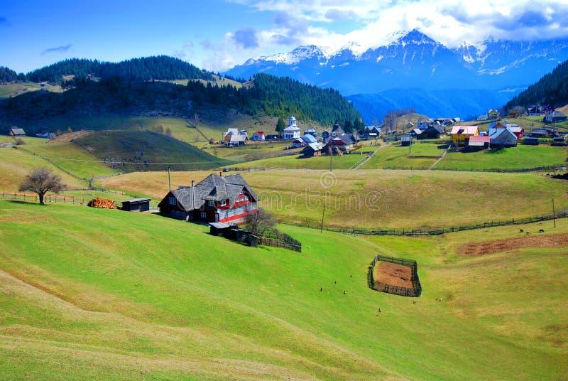 krajobrazowa malownicza wiosna obraz stock