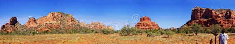 krajobrazowa panoramy pomnikowa vale zdjęcie stock