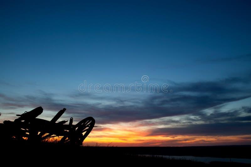 krajobrazowa preria zdjęcie stock