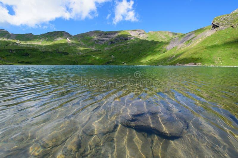 Krajobrazowa scena od Najpierw Grindelwald, Bernese Oberland, Swi obrazy royalty free